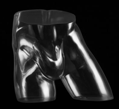 Male hip mannequin