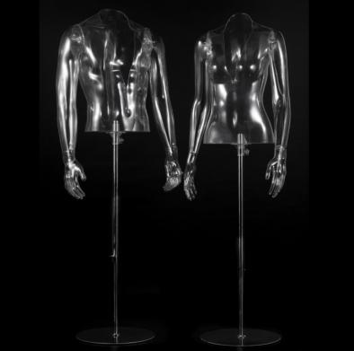 Cutting mannequins